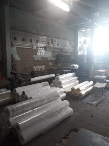 Термоусадочная пленка после изготовления готова к отгрузке заказчику
